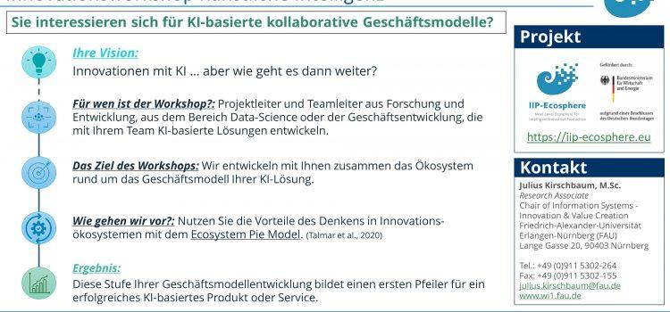 Unser Angebot: Workshop für KI-Innovationsökosystem